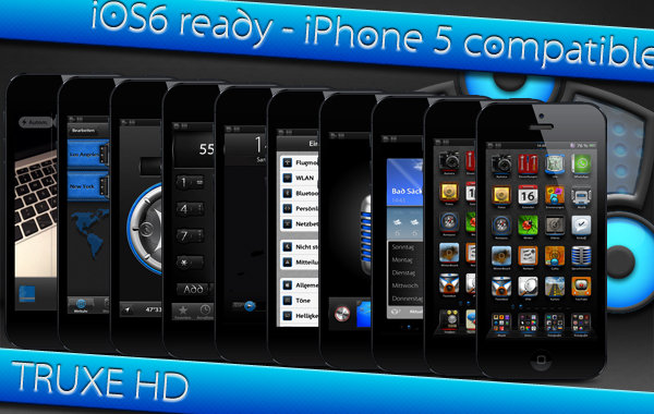 New iphone complete theme Truxe by ulysseleviet