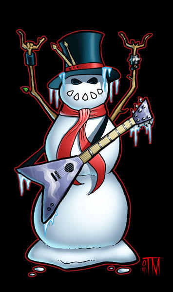 The Snowman of Rock by TylerMartin