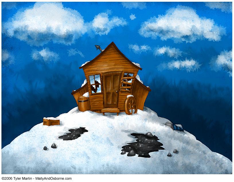 Antarctic Shack by TylerMartin