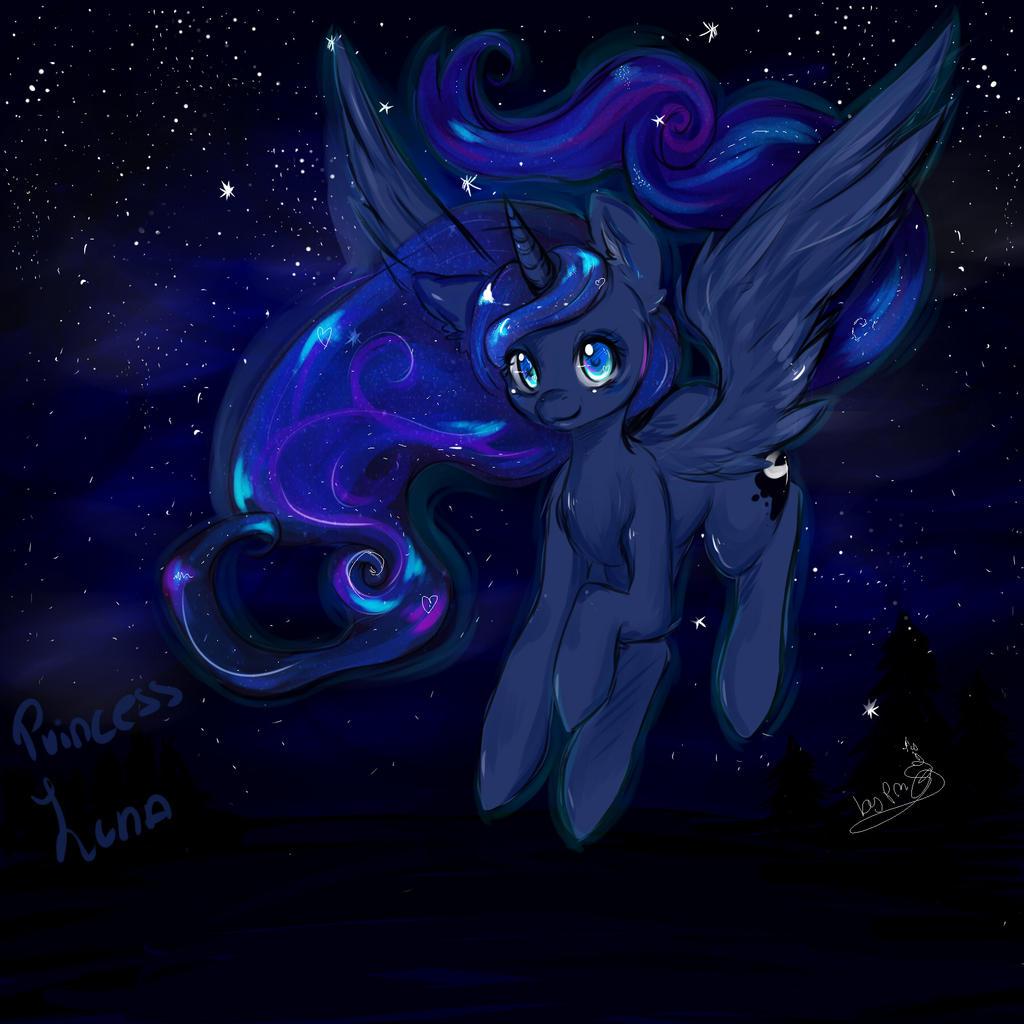 Princess luna by Prodigymysoul