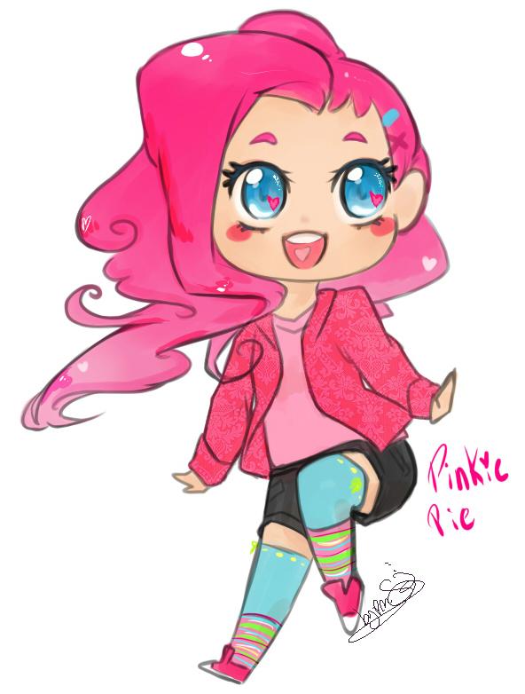 Pinkie pie human