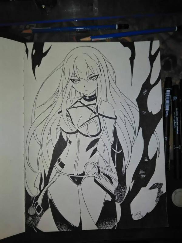 Crimson Avenger by Hellesis