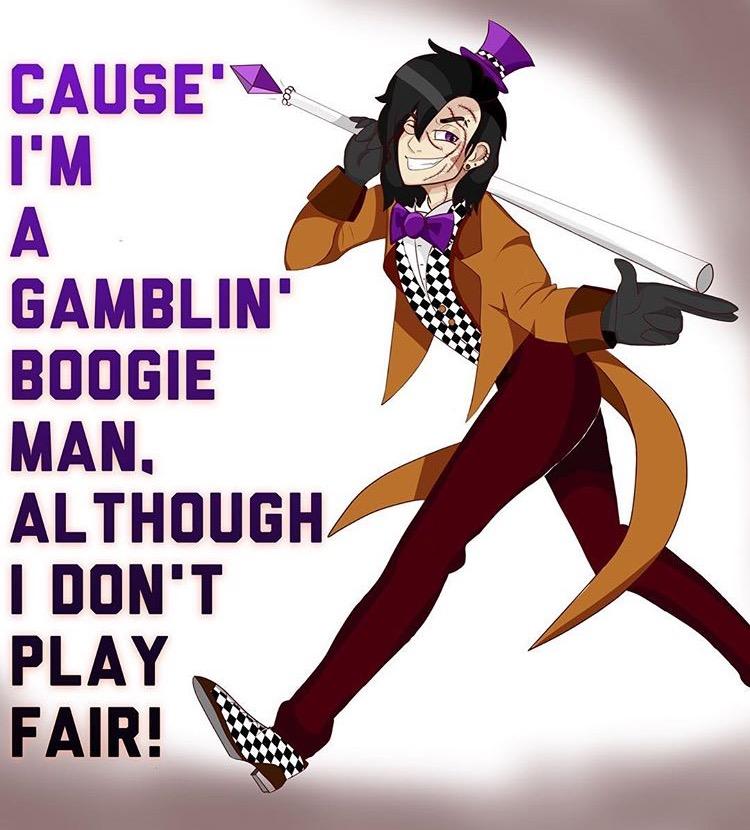 The Oogie Boogie Man by DrawingHedgehog53