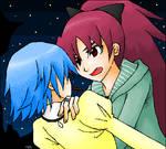 Kyoko x Sayaka
