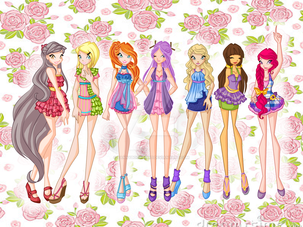 Madis club Spring dresses by BannyBooRabbit
