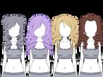 Wigs In Kisekae ~Kisekae~