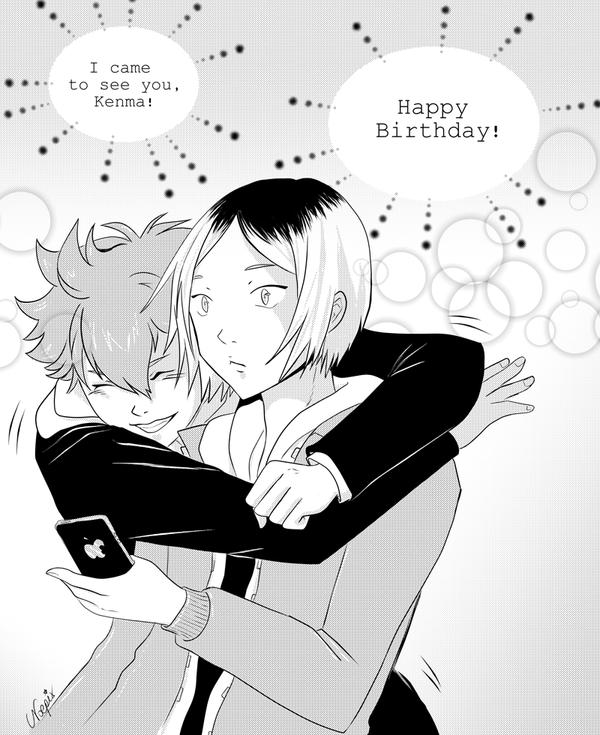 Happy Birthday Kenma! (Haikyuu - KenHina) by Noella84
