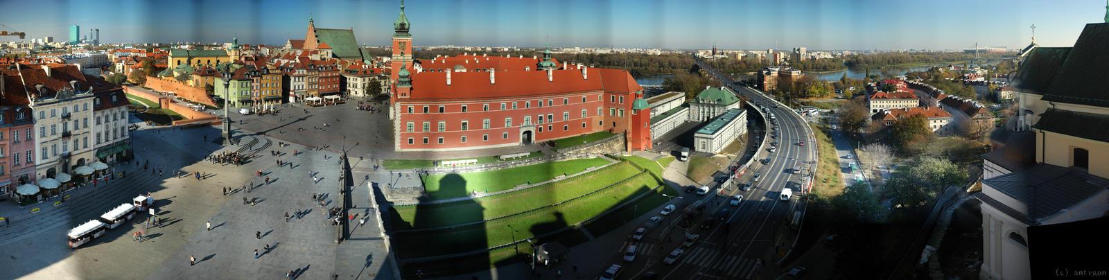 Warsaw - Royal Castle by adamsik