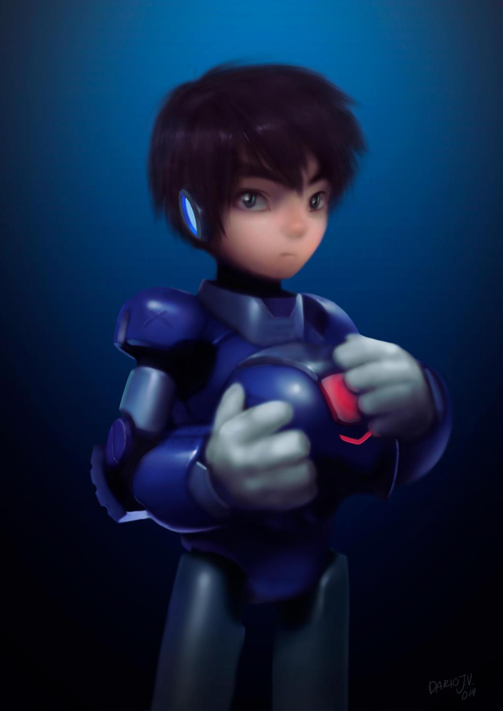 Megaman Tribute by darioid