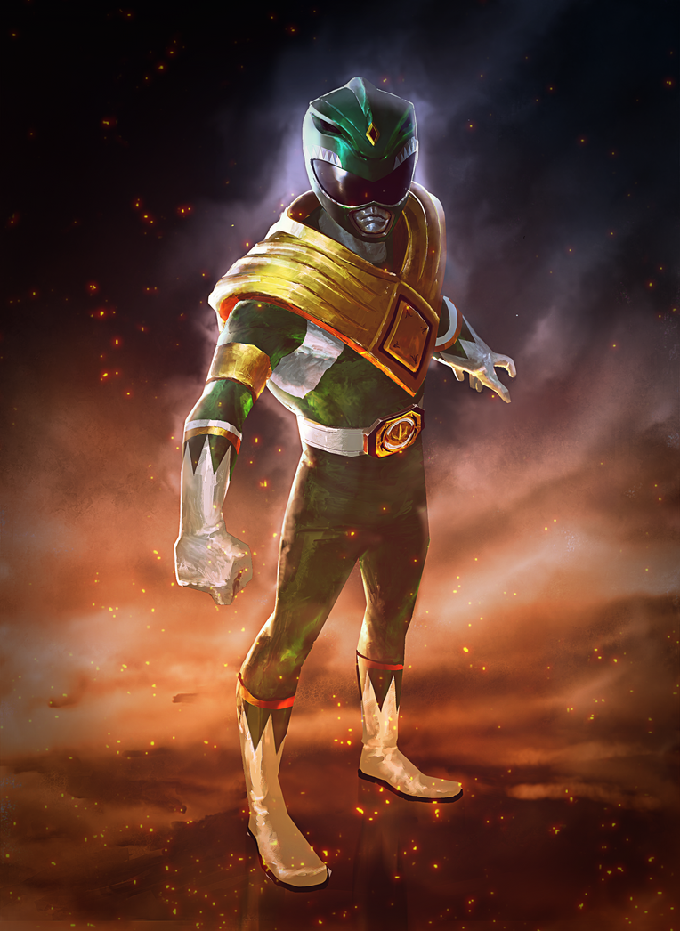 GREEN RANGER by darioid