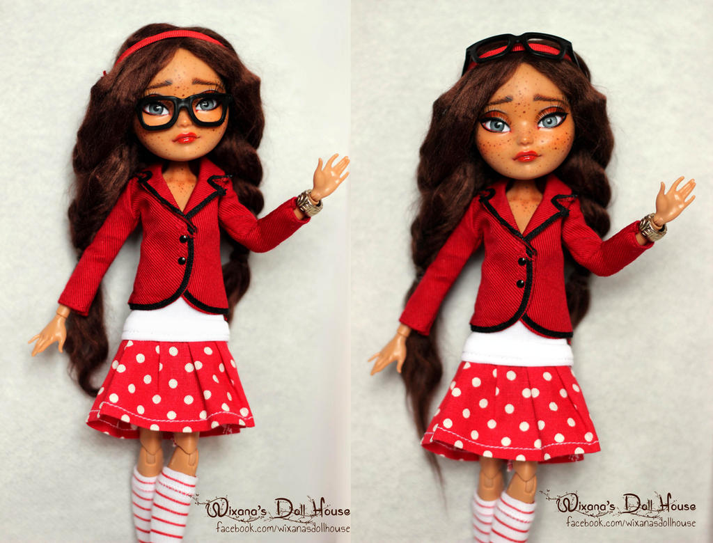 OOAK repaint Briar Beauty Ever After High doll by densetsu ...