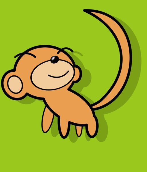 cute monkey by sengoku24