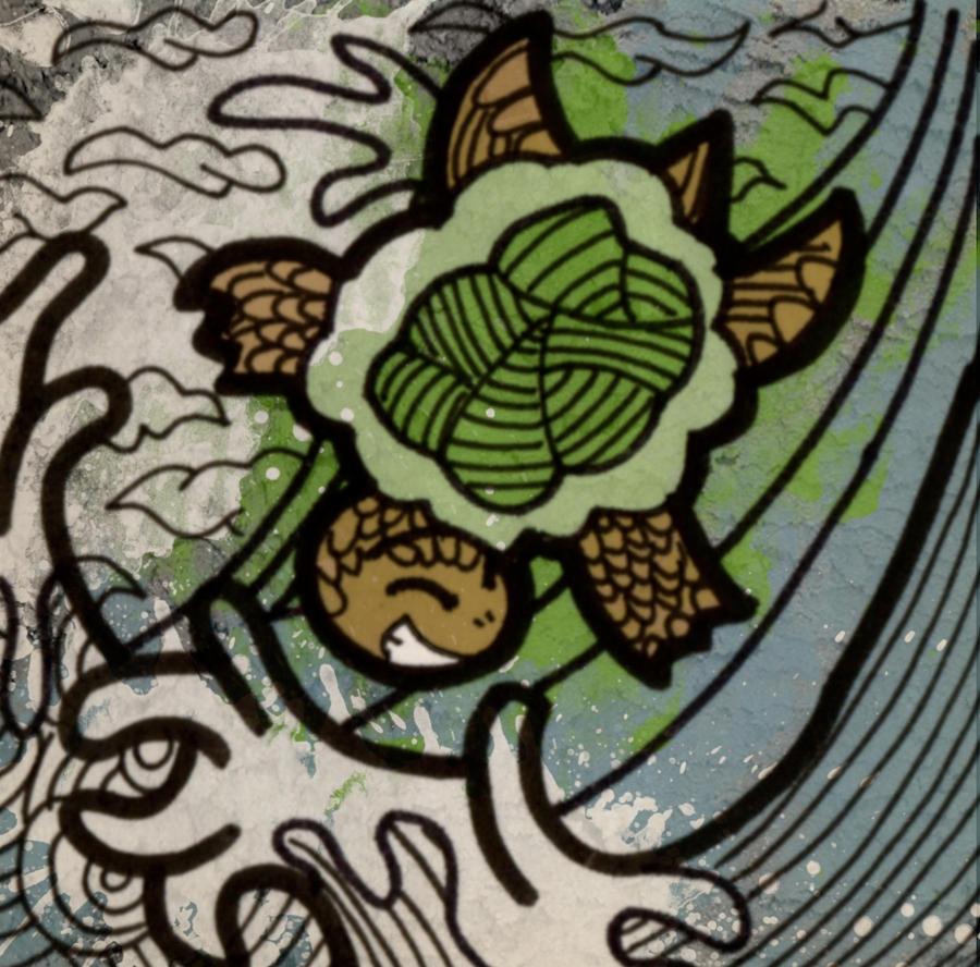 turtle doodle 1 by sengoku24