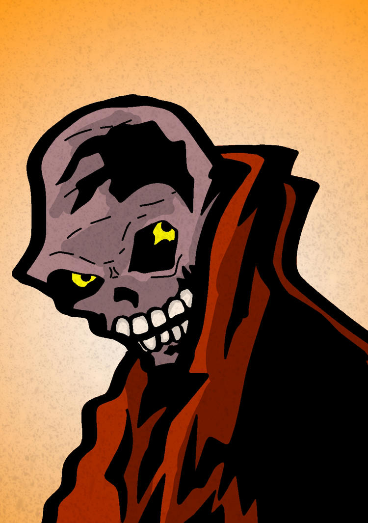 Skull person by sengoku24