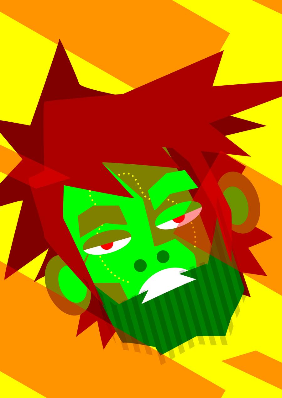 zombie guy by sengoku24