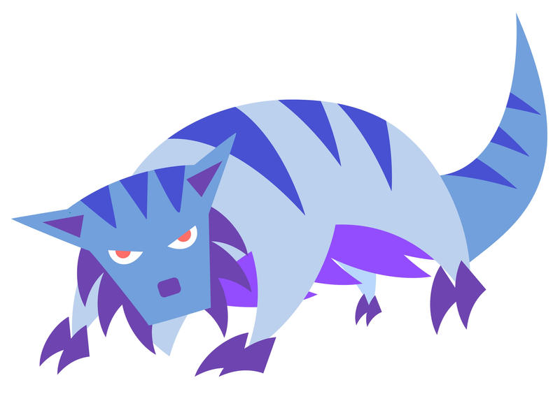 monster cat - mar 25th by sengoku24