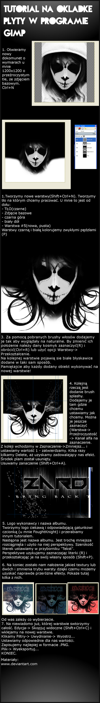 CD Cover Tutorial PL GIMP by Darin69