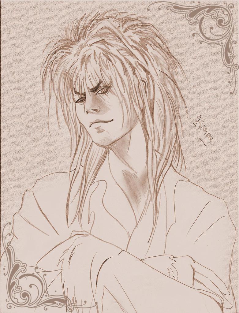Sketch Jareth COC 23 by kiarajareth