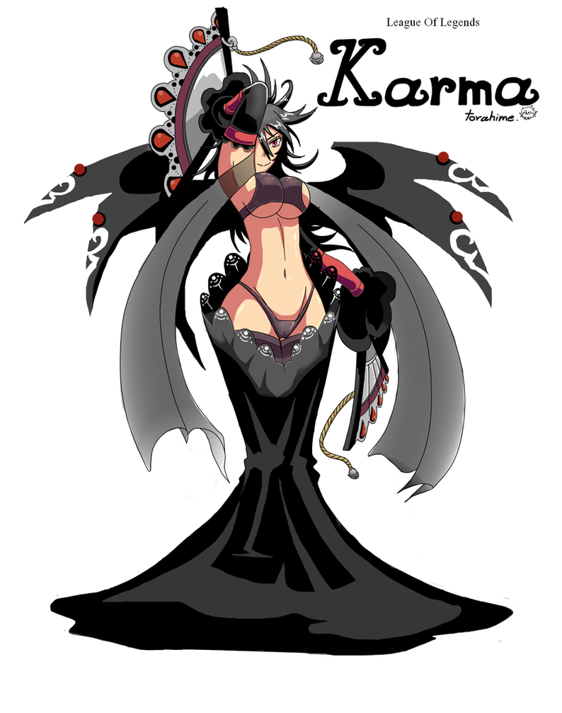 League Of Legends  Elegant Karma by TorahimeMax