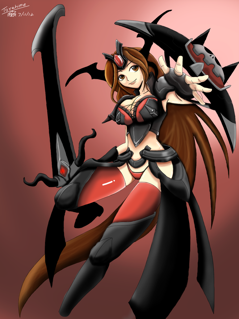 League Of Legends new skin leona by Varuna00 on DeviantArt