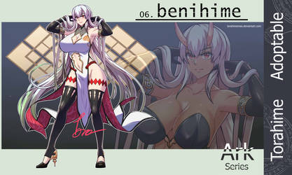 Adoptable 06. Benihime (Close)