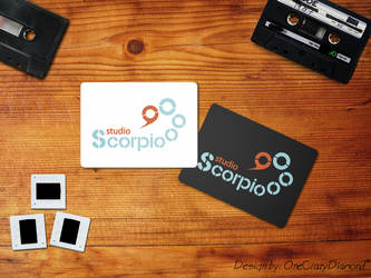 Scorpio studio logo by onecrazydiamond
