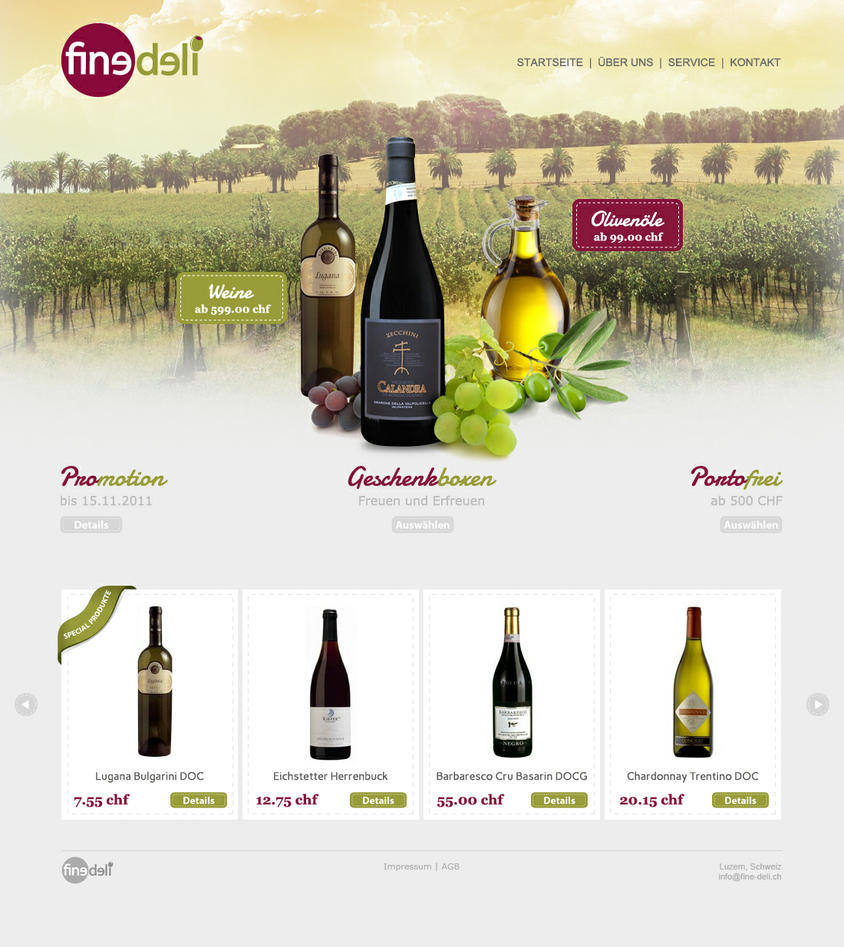 Fine Deli webshop by onecrazydiamond