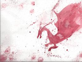 Blood Dragon by Edhelin
