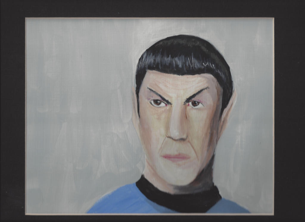 Spock Tribute by Edhelin