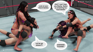 The Bellas double submission