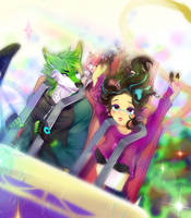 Roller Coaster by Amii-R00