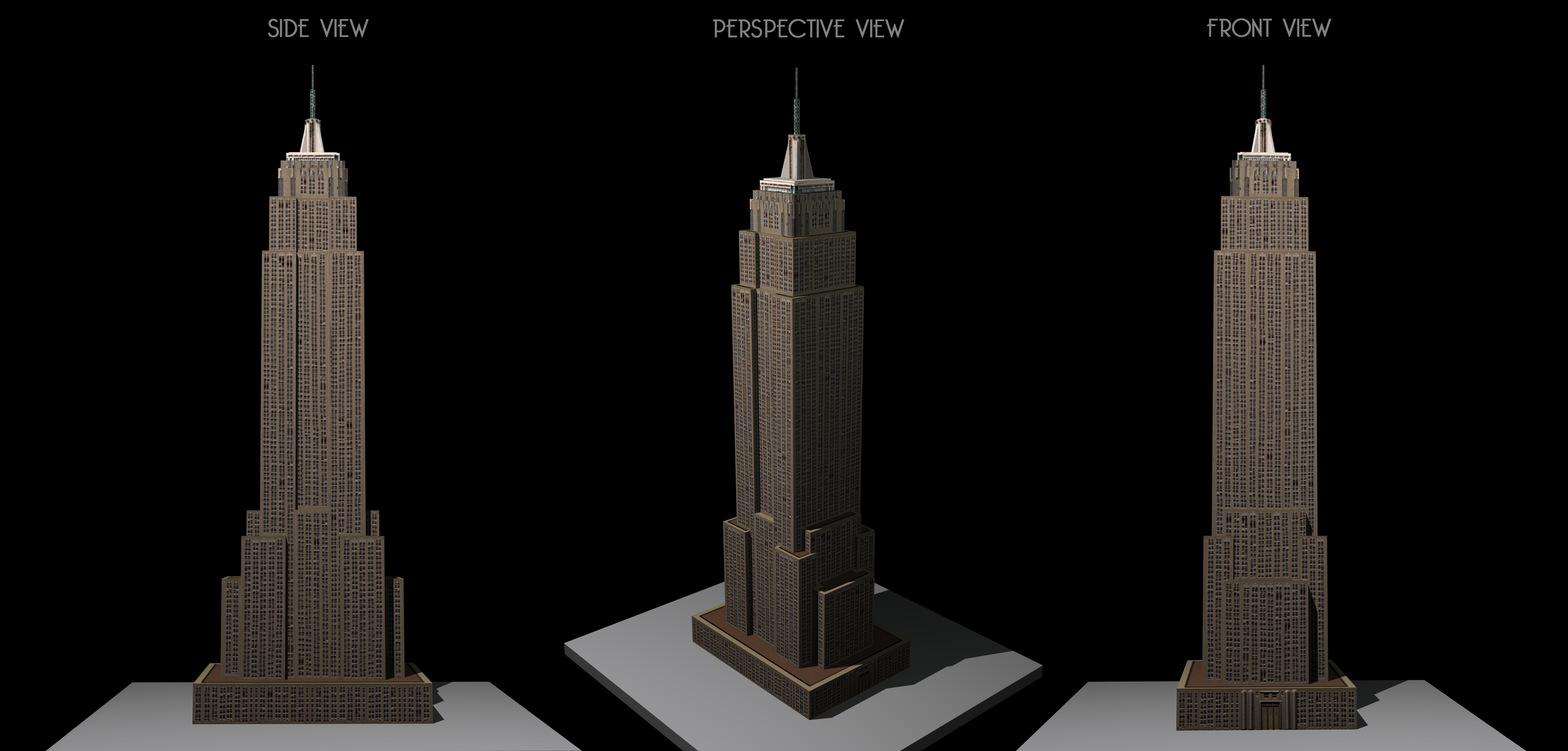 Empire State Building Photoshop