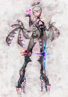 Cyber angel by nkns0ksn