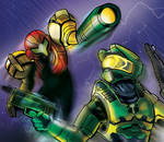 Halo vs Metroid