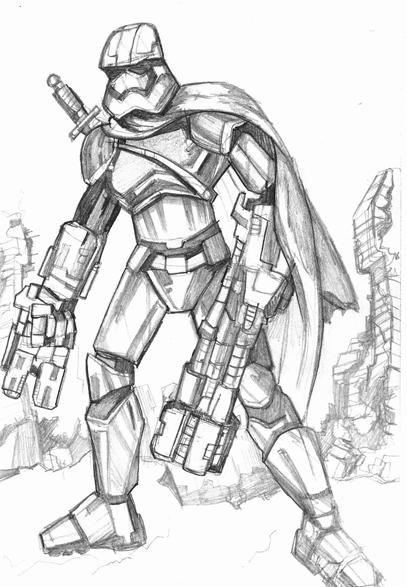 Stormtrooper of Brienne by ninjha