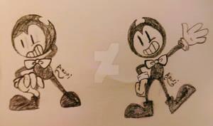 Little Devil Darling doodles