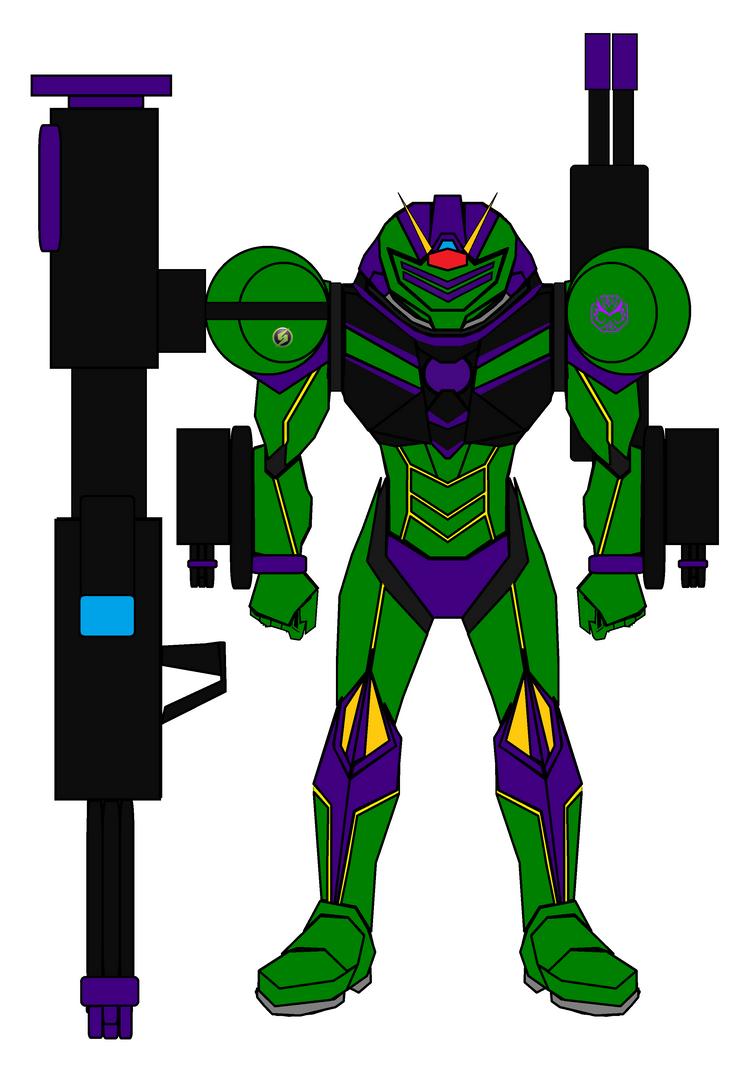 Ridley Destroyer Armor Final for LadySamusAran by imperialdramonDRMode