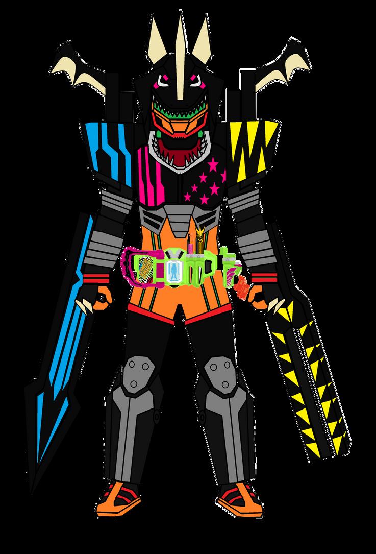 Kamen Rider Huntress Hunter Action Gamer LV5 Full by imperialdramonDRMode