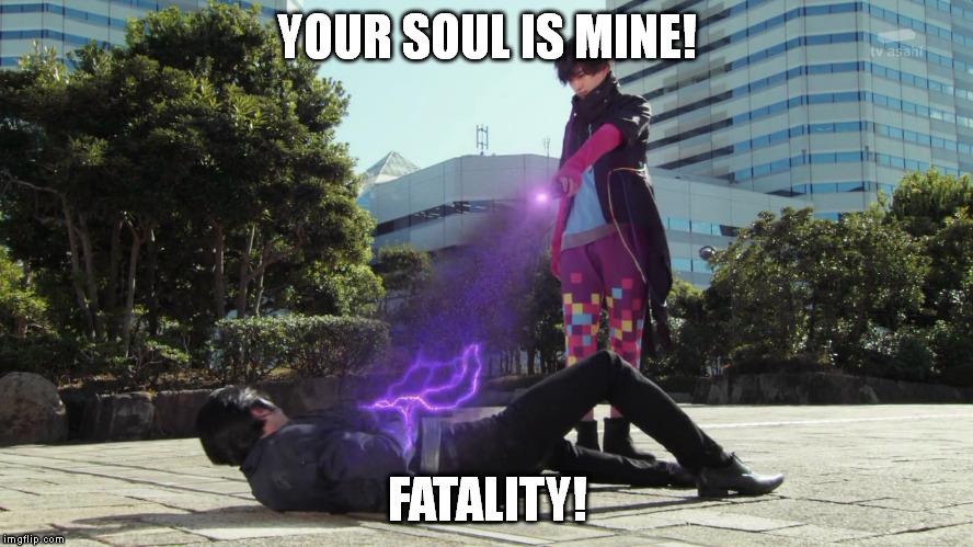 Parado's fatality by imperialdramonDRMode