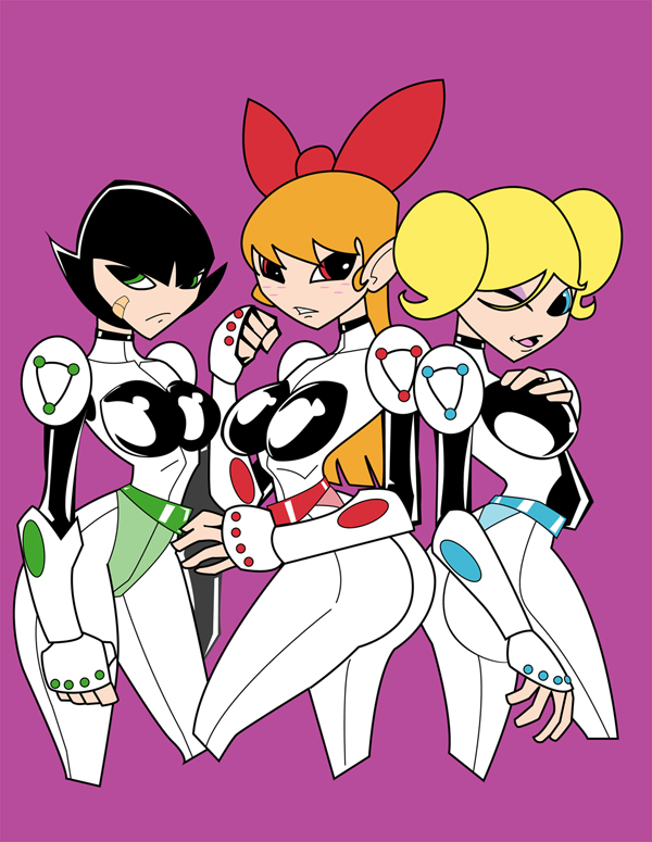 Big powerpuff girl titties