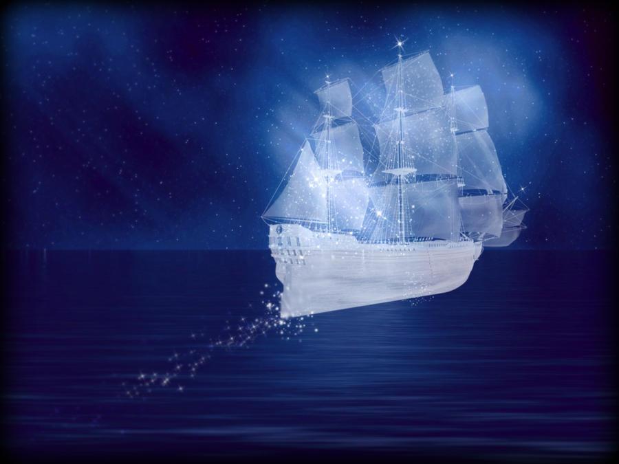 Crystal Ship by InwardPoet