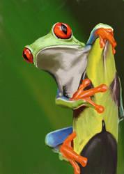 Tree-Frog by DobermannRU