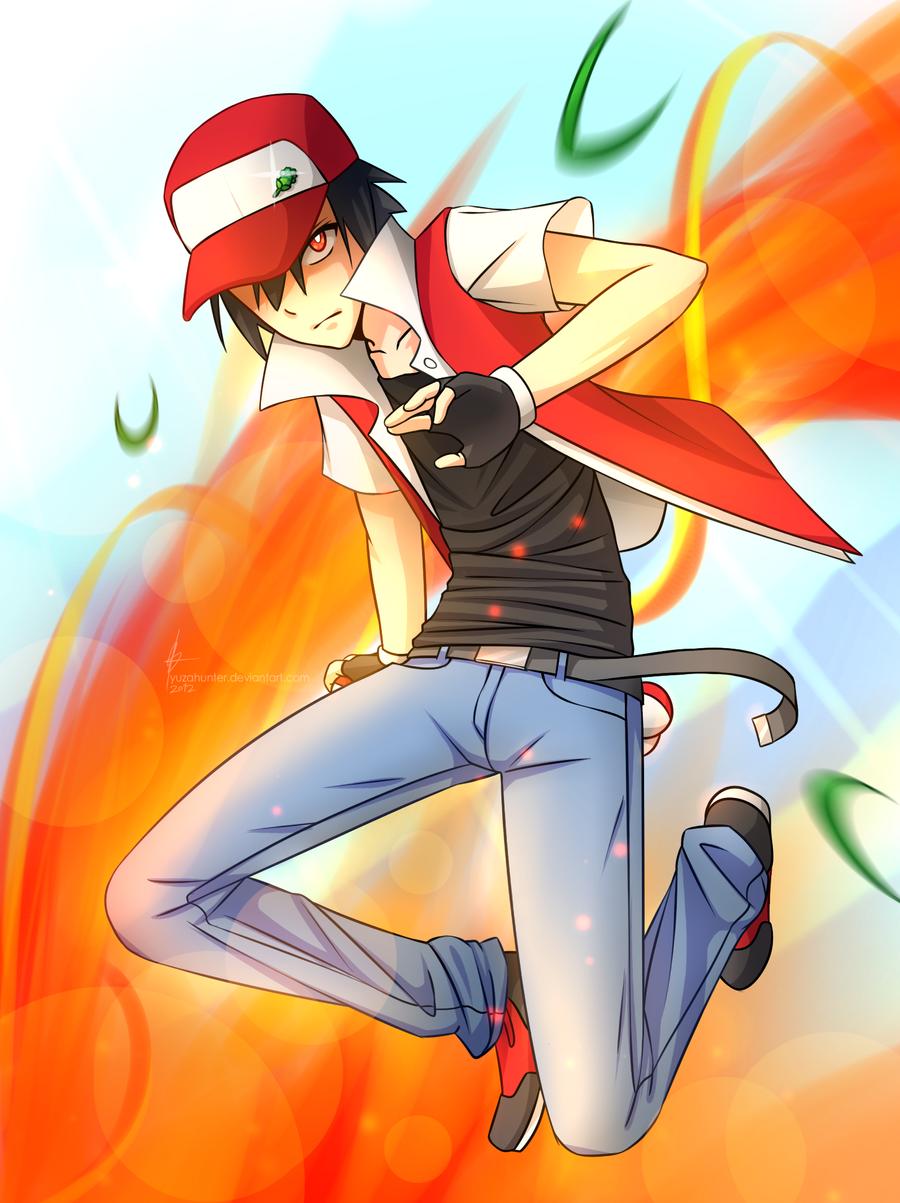 Red - The Child Prodigy (Pokemon) by YuzaHunter