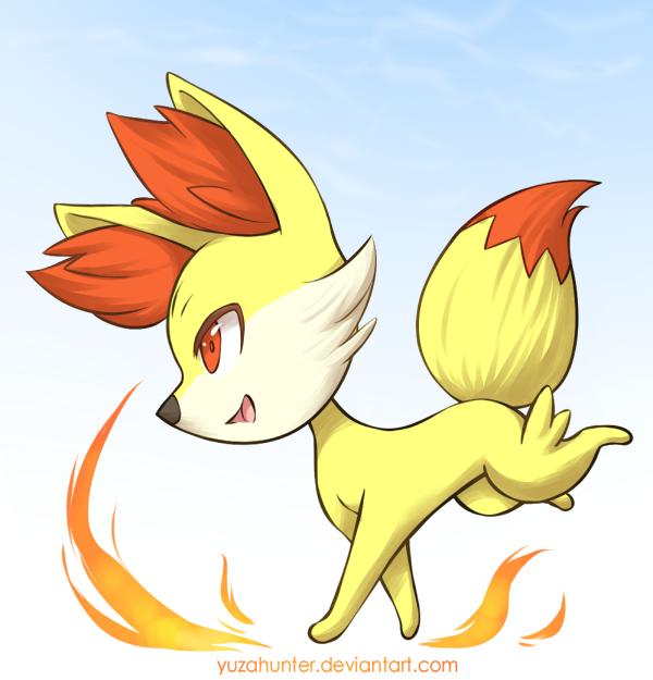 Pokemon XY - Fennekin by YuzaHunter