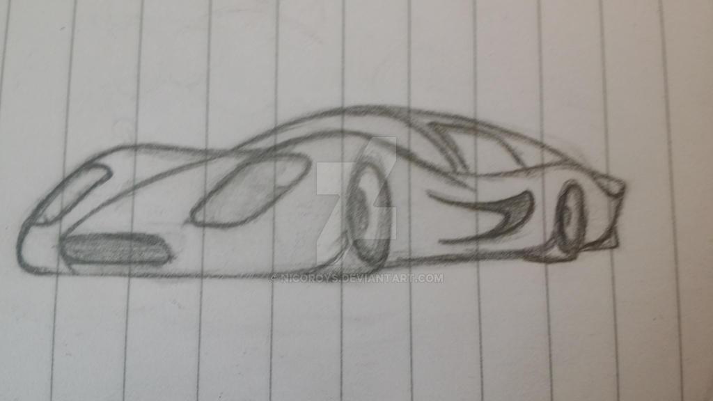 Car sketch by Nicoroys