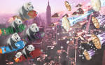 Panda Force - Pie Wars