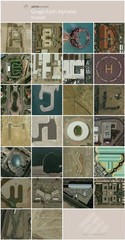 Google Earth Alphabet - Kuwait