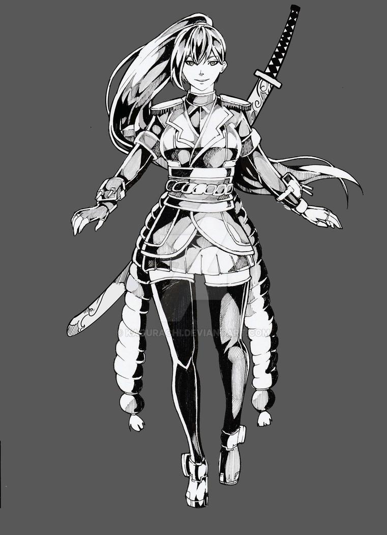 Bushoumusme commission by Kagurachi