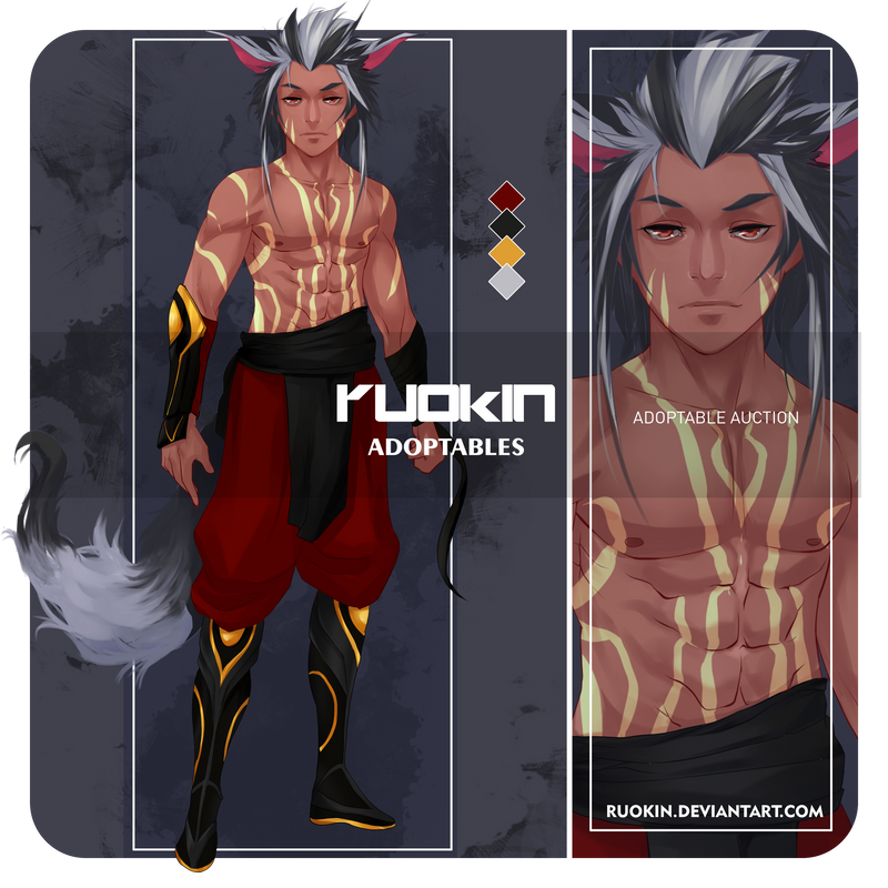 Adoptable No.7 [Open] by ruokin