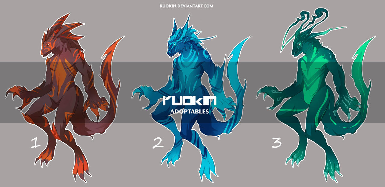 Adoptable set [Open] by ruokin